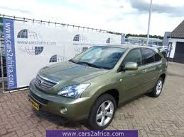 lexus rx400h crossover cars2africa