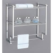 Bathroom Shelves Walmart Wall Shelves For Towels Pennsgrovehistory Com