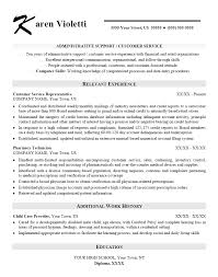 Resume Job Profile by Skills Based Resume Template Administrative Assistant Sample