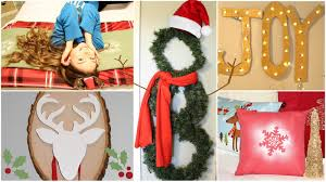 Homemade Christmas Decorations by 9 Diy Holiday Winter Room Decorations Gift Ideas Youtube