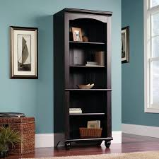 furniture traditional wood sauder bookcase design with shelf for