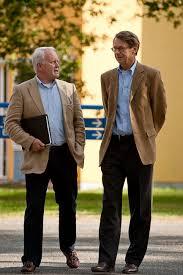 Rob Vroom (vz) en Paul Saraber Cliëntenraad - _KBF3115
