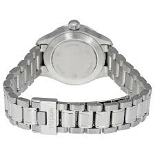 Tudor Style by Tudor Style Silver Dial Automatic Ladies Watch 12110 Svss Style