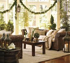 Decorative Garlands Home by Decorations Christmas Day Green Livingroom Color Theme With