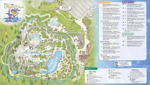 Map Of Downtown Disney Orlando by Blizzard Beach U0026 Typhoon Lagoon Guidemaps