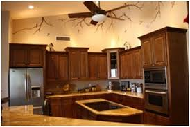 simple kitchen color schemes with dark oak cabinets without on
