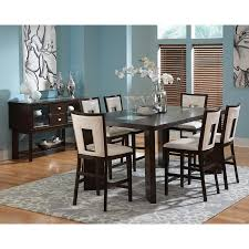 Steve Silver Delano  Piece Counter Height Dining Set Espresso - Counter height kitchen table