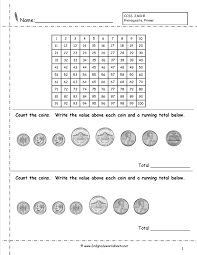 Regrouping Worksheets Counting Coins And Money Worksheets And Printouts