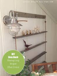 Hanging Bookshelves Ikea by Ikea Hack Hanging Shelves With Graphic Dyi Projects