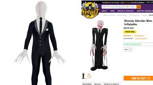 halloween spirit shop wisconsin community outraged over sale of slender man halloween