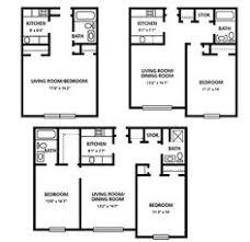 Two Bedroom Apartment Floor Plans Spice Tree Apartments Two Bedroom Apartment Floor Plans And