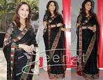 Madhuri Dixit | Black Saree Drapes « Zeenat Style