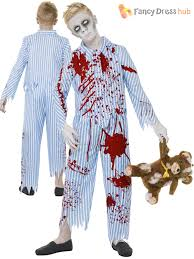 zombie boy halloween costume child zombie pyjama boy walking dead fancy dress kids