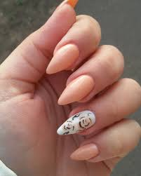 nail designs pointy beautify themselves with sweet nails