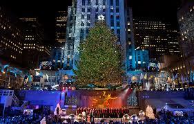 rockefeller center christmas tree new york sightseeing