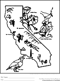 california coloring pages coloring pages pinterest