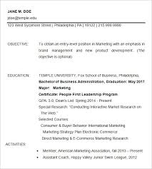 Ecommerce Resume Sample by 15 Business Resume Templates U2013 Free Samples Examples U0026 Formats