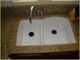 Granite Countertop  Shallow Sinks In Kitchen How To Fix A Leaky - Shallow kitchen sinks