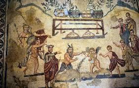 Какое имя у древнегреческого бога пляски и веселья?