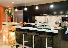 modern kitchen light fixtures pendant lamps above table bar stools