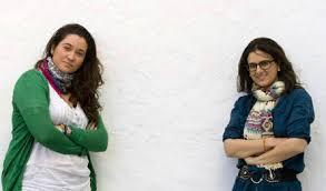 Carolina Villarreal y María Reyes. /Foto: Eduardo Ruiz. La provincia con la mayor tasa de paro de toda España es Cádiz, con el 35%. - villarreal_reyes_puertosantamaria