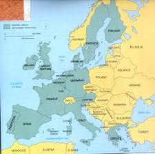 Western Europe Political Map european map quiz