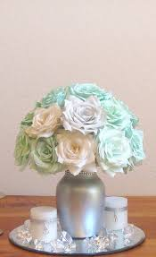 Silver Centerpieces For Table Best 25 Mint Wedding Centerpieces Ideas On Pinterest Picture