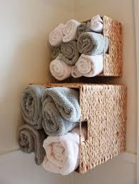 small bathroom decor creative storage ideas wicker rattan towel bathroom small bathroom decor creative storage ideas wicker rattan towel box wall mounted towel rack for