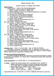 Breathtaking Facts about Bilingual Resume You Must Know   How to   Template   How to get Taller