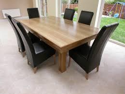 modern wood dining room table 16127