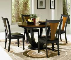 Dining Room Sets With Round Tables Awesome Black Dining Room Set Pictures Rugoingmyway Us