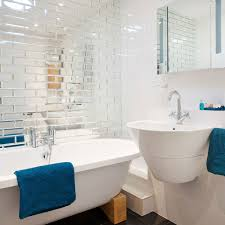 Pictures Of Small Bathrooms With Tile Optimise Your Space With These Smart Small Bathroom Ideas Ideal Home
