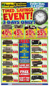 surplus furniture u0026 mattress warehouse kitchener flyer may 30 to