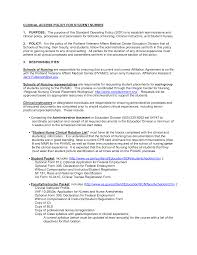 Oncology Nurse Resume  sample of nursing cover letter images about     ipnodns ru