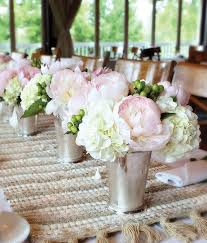Silver Centerpieces For Table Pink Wedding Centerpieces Mywedding