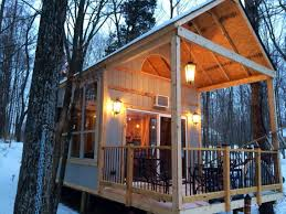 Lakeside Cottage Plans by Single Mom Builds Off Grid Lakeside Cabin Near Columbus Ohio