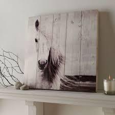 horse print on wood wall art grahambrownus