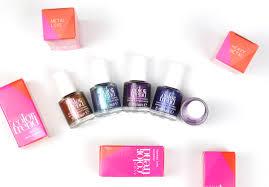 avon color trend nail polish lacquered bits