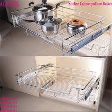 aliexpress com buy 1pc kitchen pantry pull out sliding metal