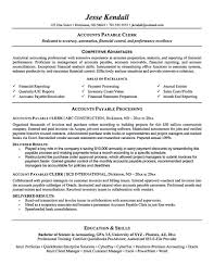 Inventory Specialist Resume Sample by Excellent Accounts Payable Resume 3 Best Accounts Payable