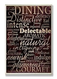 amazon com stupell home décor dining words black kitchen wall