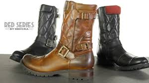 cheap waterproof motorcycle boots sendra red series krass motorcycle boots review youtube