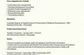 Sample Teacher Assistant Resume by Choose Resume Examples For Teacher Assistant Microsoft Word Jk