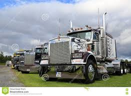 classic kenworth for sale classic kenworth show trucks under dramatic sky editorial stock