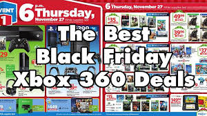 black friday best video game deals top 5 best xbox 360 black friday deals