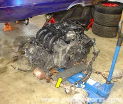 porsche boxster engine drop removal 986 987 1997 08