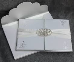 Invitation Card Store Online Buy Wholesale Silver Wedding Invitations From China Silver