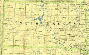 United States Map Major Cities by South Dakota Outline Maps And Map Links