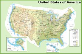 Blank Physical Map Of Russia by Usa Maps Maps Of United States Of America Usa U S