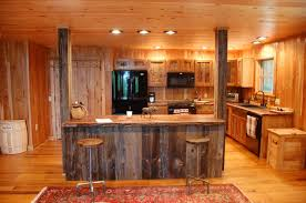 Complete Kitchen Cabinets Rustic Kitchen Cabinets Completes A Countryside House Ruchi Designs